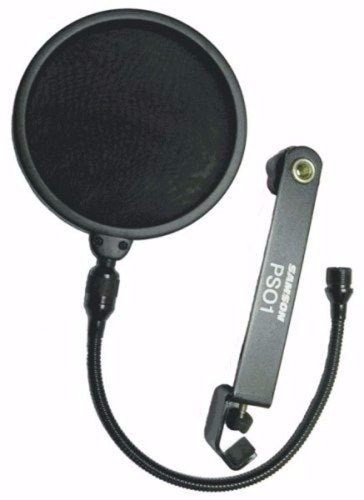 Samson Ps01 Pop Filter Anti Pop Con Cuello De Ganso Estudio