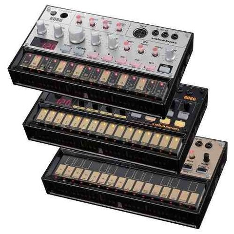 Kit Sintetizadores Korg Volca Set Beats Keys Bass