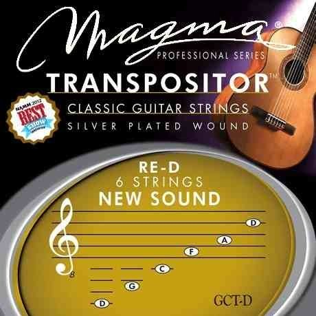 Encordado Transpositor Magma Guitarra Clasica Bass Mi-eencor