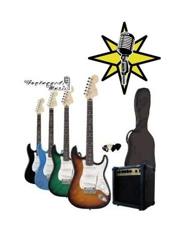 Combo Guitarra Electrica Amplificador Funda Cable