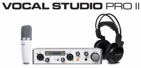 Micrófono Condensador M-audio Vocal Studio Pro Ii Usb