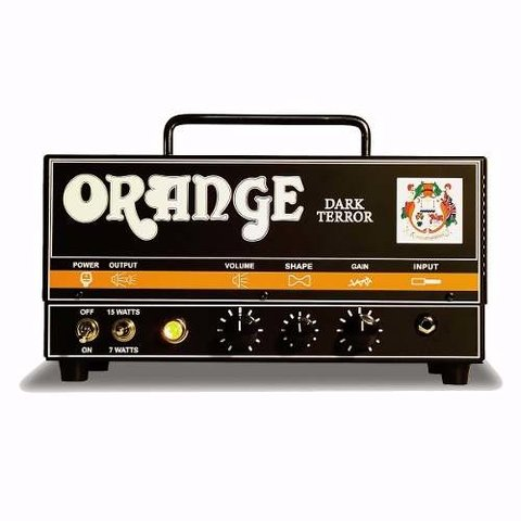 Amplificador Guitarra Orange Da15 H Dark Terror Head Valvula