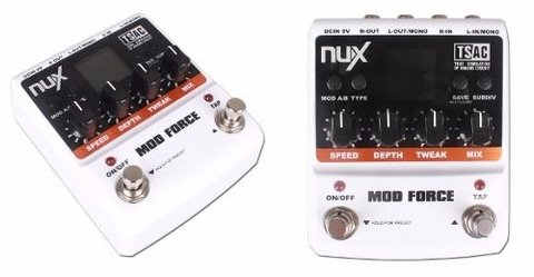 Pedal  Nux Force Mode Chorus Flange Guitarra en internet