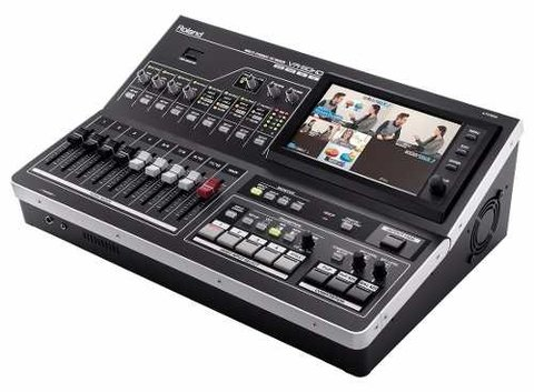 Roland Vr50 Hd Usb Consola Mixer Digital Audio Video Tv Show