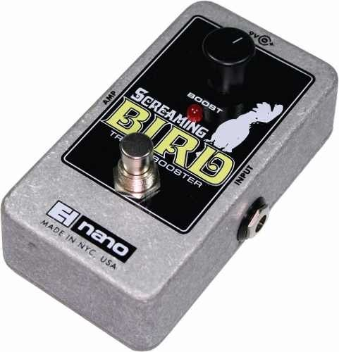 Electro Harmonix Screaming Bird Pedal Treble Booster