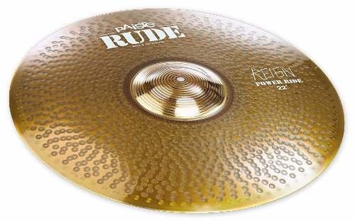 Paiste Rude Power Ride 22 Dave Lombardo Pr-22