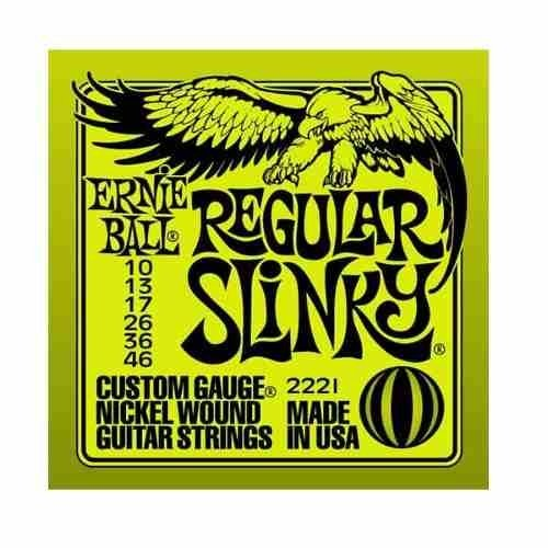 Encordado Cuerda  Ernie Ball Guitarra Electrica 010 2221