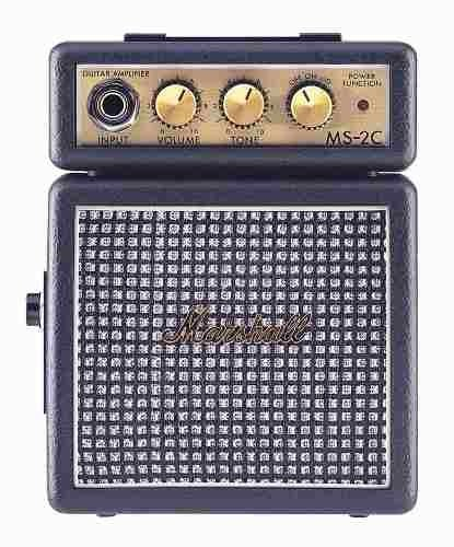 Mini Amplificador Marshall Ms-2 Guitarra Portatil Navidad en internet