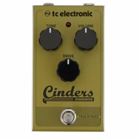 Tc Electronic Cinders Overdrive Pedal Anologo