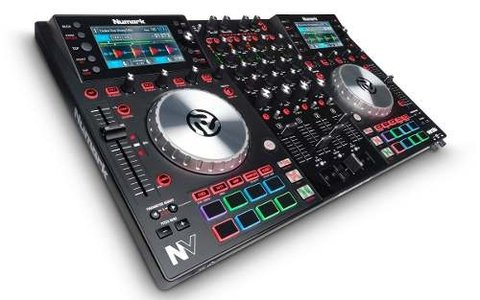 Numark Nv Controlador De 4 Decks Para Serato Dj Interface