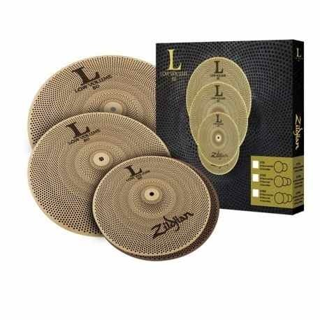 Zildjian Lv468 Set L80 Bajo Volumen Hh 14 + C 16 + Cr 18