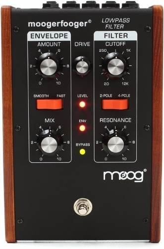 Moog Moogerfooger Mf-101 Lowpass Filter - Black