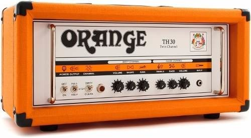 Orange Cabezal De Guitarra Valvular De 30 Watts Th 30 Head