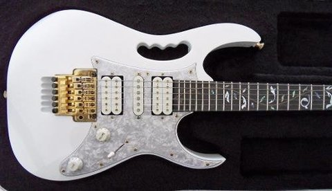 Ibanez Jem 7v Wh Guitarra Electrica Color Blanco - UNPLUGGED