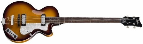 Hofner Club Ignition Hct 5002 Bajo Violin Beatles C/ Estuche - UNPLUGGED