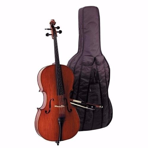 Steinner Strauss Cello De Estudio Dce-100 4/4 C/arco Y Funda