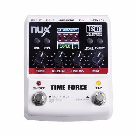 Pedal Nux Time Force Pedal De Delays - comprar online