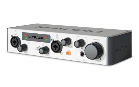 M-audio M-track Interfaz De Audio