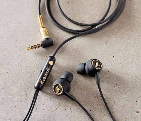 Auricular Marshall In Ear Mode Eq Cable Con Mic Y Control - comprar online