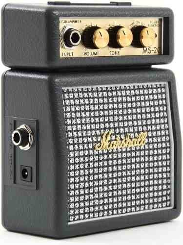 Mini Amplificador Guitarra 1w Marshall Ms2c Marshalito