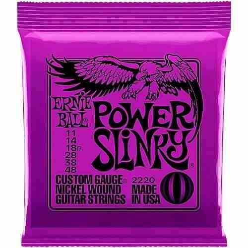 Encordado Ernie Ball 2220 Power Slinky 011 048 G Electrica