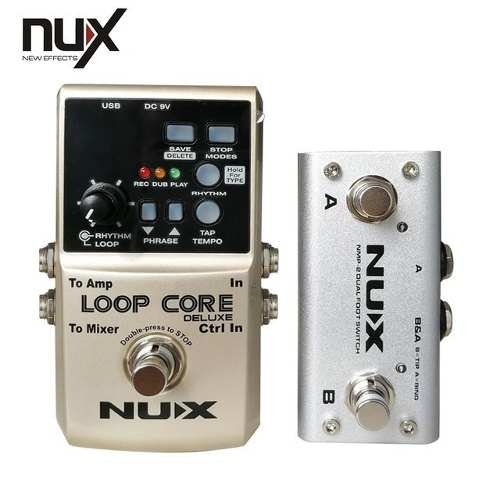 Pedal Nux Loop Core Deluxe Looper True By Pass - comprar online