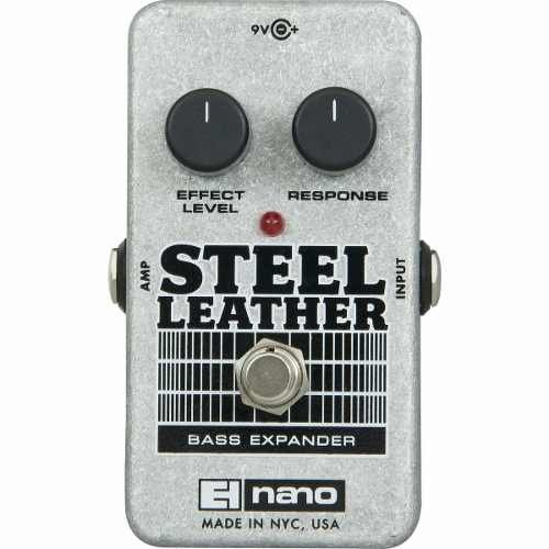 Pedal Electro Harmonix Nano Steel Leather Bass Expander