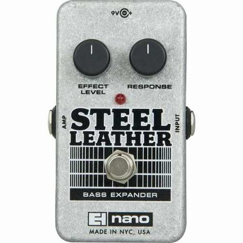 Electro Harmonix Nano Steel Leather Bass Expander Pedal