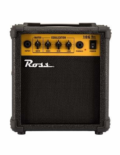 Ross Amplificador Para Guitarra 10 Watts Con Distrosión G-10
