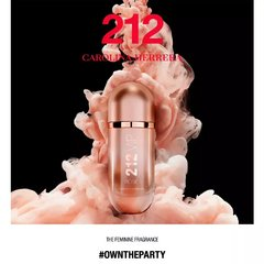 212 Vip Rose De Carolina Herrera Eau De Parfum Feminino - Beauty Chic
