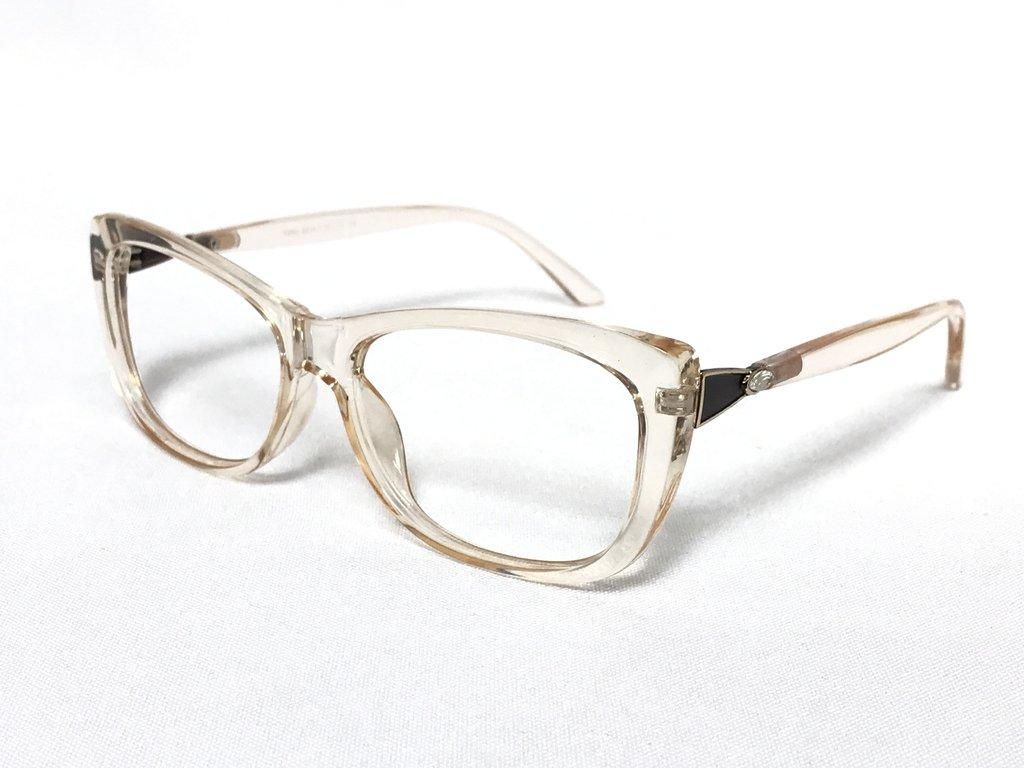 14aed779ba479 ... Armação Oculos Feminino C Lente Sem Grau translucido laranja 8824. 1