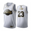 Camiseta Regata Nike Lakers branca James #23