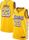 Camiseta Regata Nike Lakers Amarela James #23