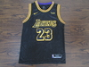 Camiseta Regata Nike Lakers preta James #23