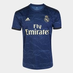 Camisa do Real Madrid Azul 2019/2020 Masculina Personalizável - comprar online