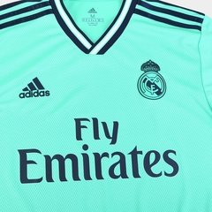 Camisa do Real Madrid Verde 2019/2020 Masculina Personalizável na internet