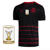 Camisa Flamengo III 2020 Masculina Patch BR19 Personalizável