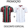 KIT Camisa do Fluminense Tricolor + Branca Masculina 2020 Personalizável