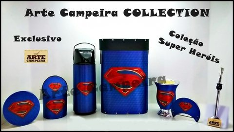kit chimarrão (Mateira) SuperMan - comprar online