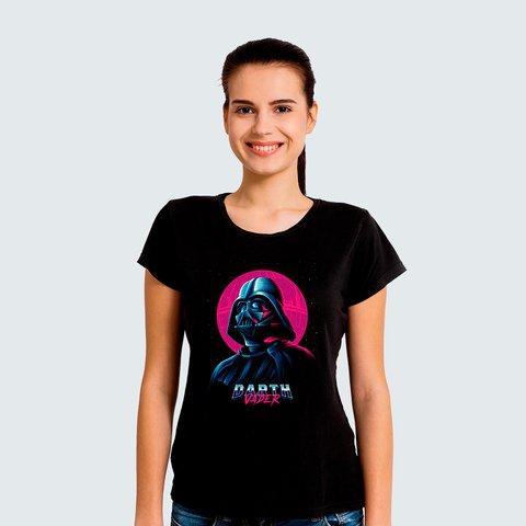 83f186173 Camiseta Feminina Darth Vader