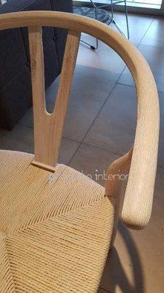 Silla Wishbone Whitewash en internet