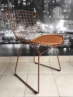 Silla Bertoia Color Cobre en internet