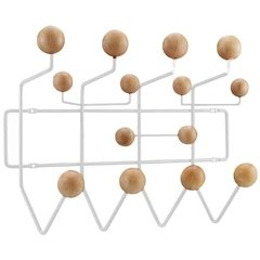 Perchero De Pared - Eames - Hang It All madera clara - comprar online