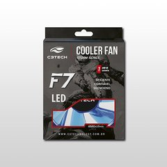 COOLER FAN F7-L50BL STORM 8CM LED C3TECH
