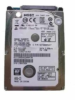 Hd Para Notebook 2,5  500gb Sata Iii 5400 Rpm Z5k500 Metálic