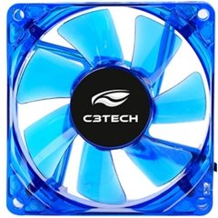 COOLER FAN F7-L50BL STORM 8CM LED C3TECH - comprar online
