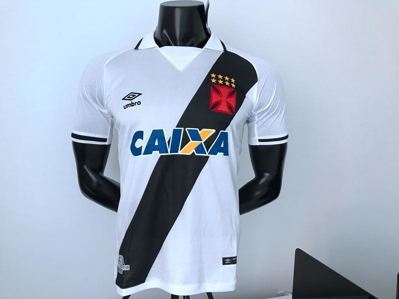 Camisa Vasco II 17 18 s nº Torcedor Umbro Masculina - Branco e Preto 65937c10bde68