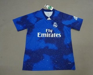 Camisa Real Madrid Home 2018 s n° Torcedor Adidas Masculina - Branco e Preto 1efc8036e546f