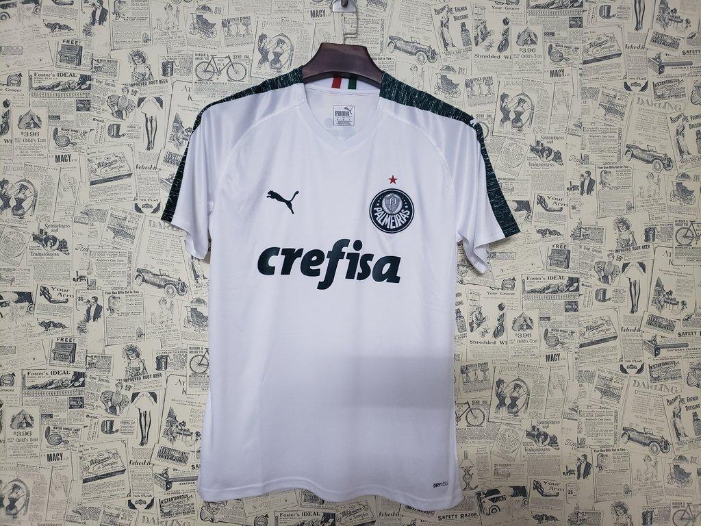 Camisa Palmeiras II 19 20 s n° - Torcedor Puma Masculina - Branco 3e59e202c69ad