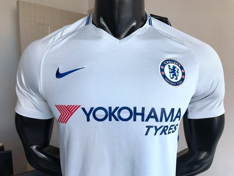 ... Camisa Chelsea Away 17 18 s n° - Torcedor Nike Masculina - Off White e  Azul. 15% OFF 57bac51ac0abc
